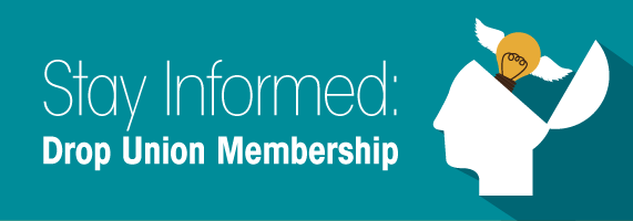 Drop Union Membership